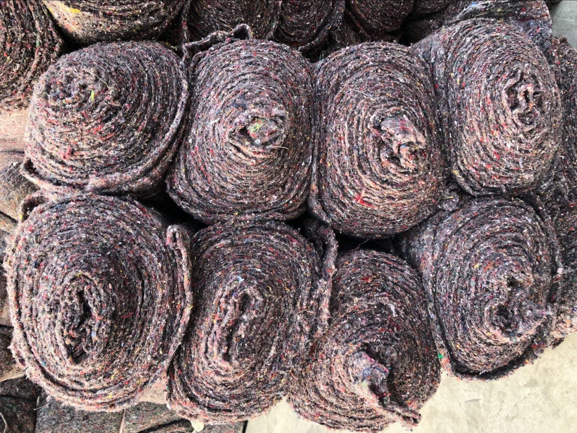 直销运输保护家具包装毯子防护搬家打包发物流用毛毯毛毡垫子厂家