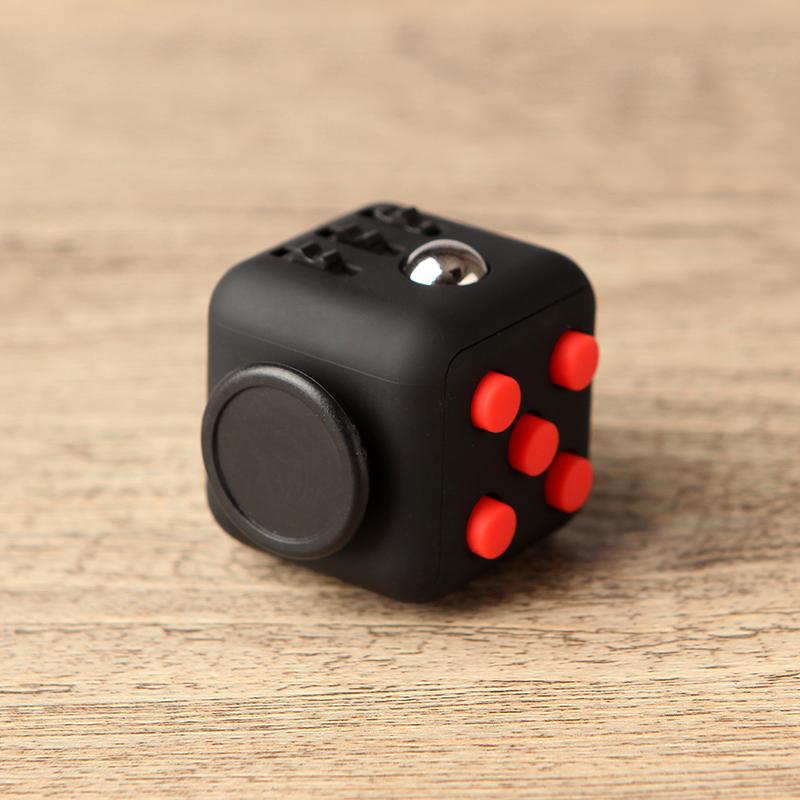 Fidget toy cube сша оригинал декомпрессия игра в кости анти беспокоить нетерпеливый очаговый рассматривать волосы вентиляционный артефакт решение пресс куб блок