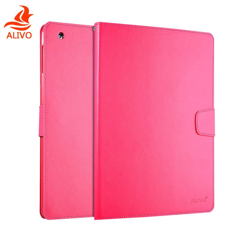 ALIVO蘋果ipad2保護套 ipad3平板皮套翻蓋式防摔 ipad4軟矽膠外殼
