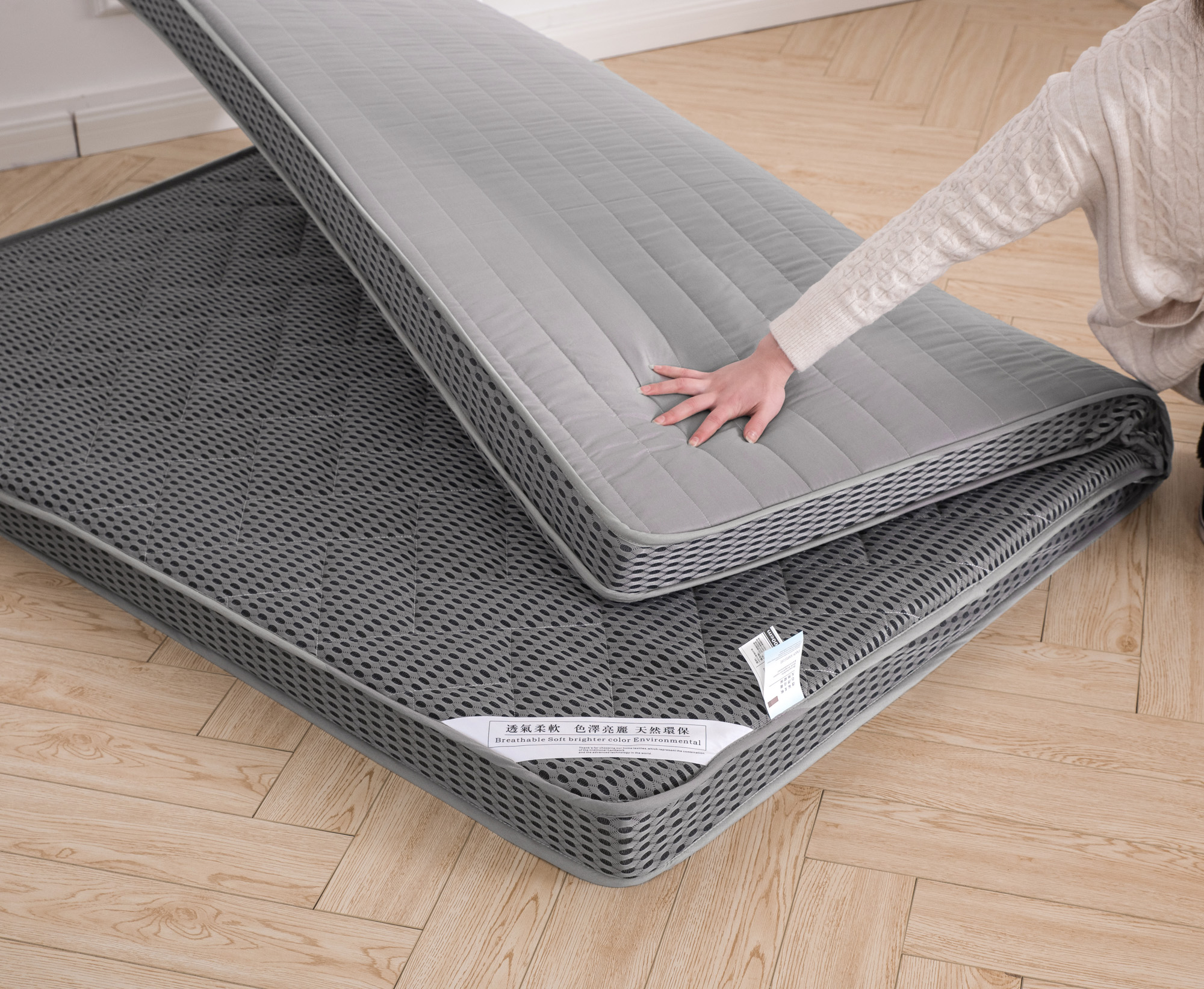 Утолщённый море хлопок матрас 0.9m1/1.2/1.35/1.5/1.8x1.9*2 метр студент комната с несколькими кроватями матрас кровать матрас