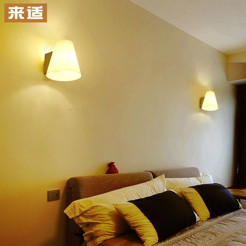 來適 簡約 實木壁燈 日式客廳過道樓梯陽台北歐臥室床頭燈