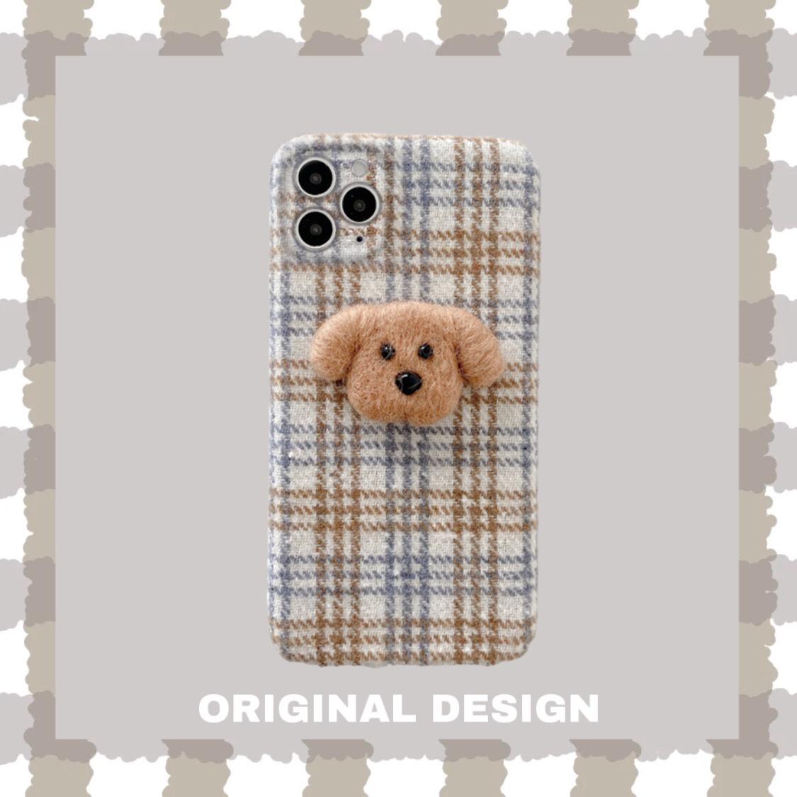 中國代購|中國批發-ibuy99|iphone 7 plus|小香风绒布格适用苹果11pro/12手机壳全包镜头iPhone7/8plus/Xs套