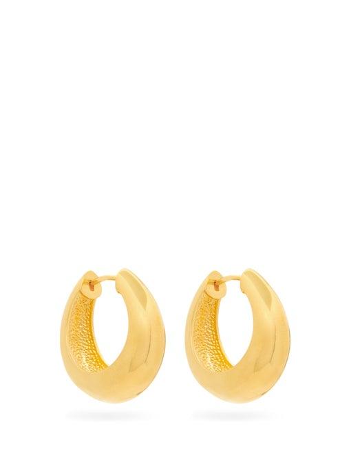 包邮代购 SOPHIE BUHAI 2020女士 金色环状耳环