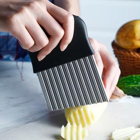 土豆家用狼牙创意波浪纹厨房切片器