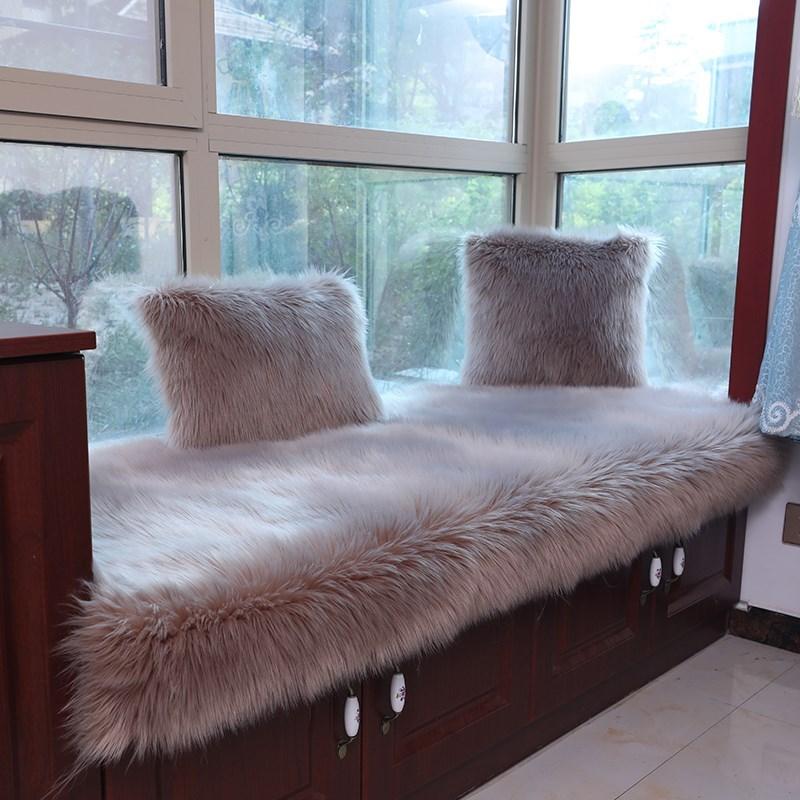 满84.24元可用42.12元优惠券飘窗垫 带垂边标窗台垫飘床垫窗台垫瓢窗垫票窗垫窗垫票窗垫 加厚