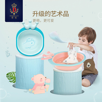 Ty Love baby washbasin baby washbasin pp Children newborn cartoon cute folding home 2 3 pcs