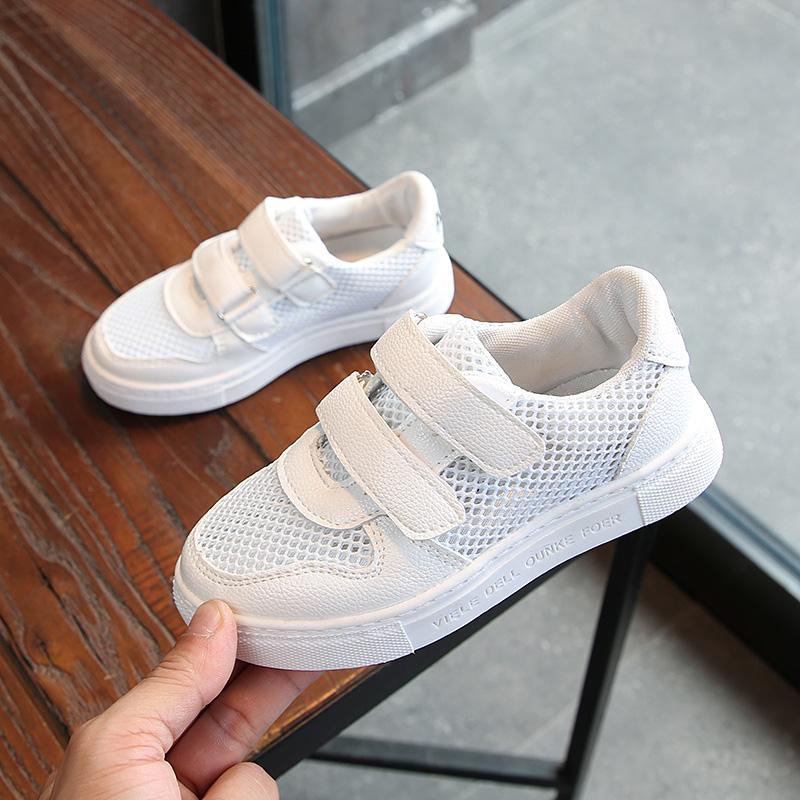 儿童网鞋透气网面单网白色女童童鞋满168.00元可用132.1元优惠券