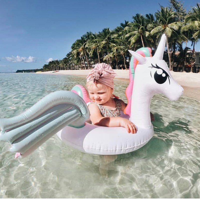 INS婴儿小马宝莉座圈儿童彩翼独角兽游泳圈坐圈水泡腋下圈10-21新券