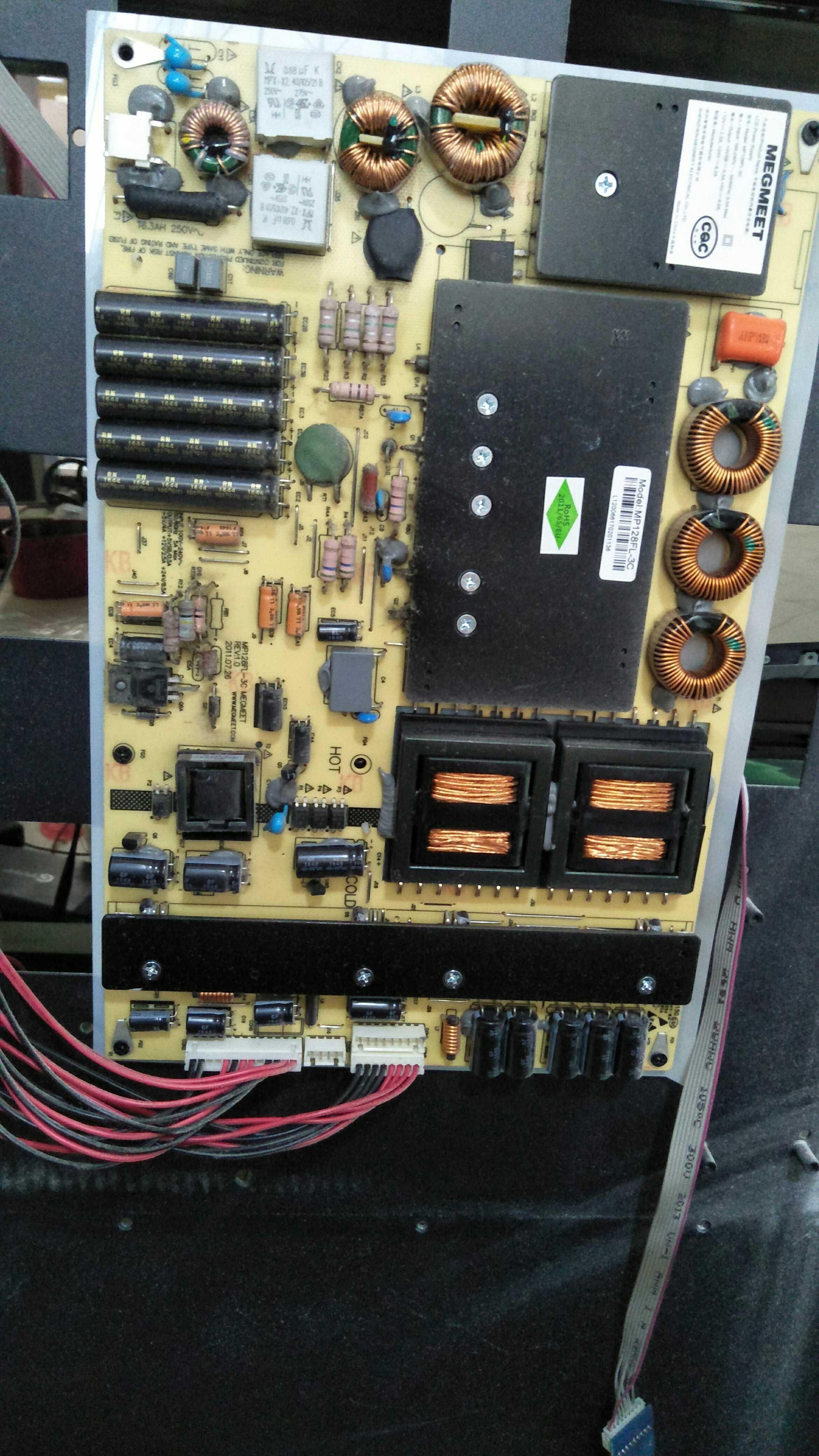 原装畅视液晶监视器CS-M5501电源板MP128FL-3c监视器广告机电源板