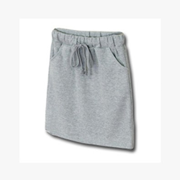 Womens cotton leisure sports skirt trend in spring and summer