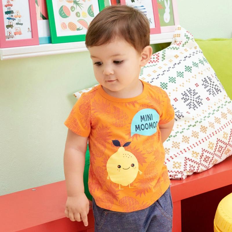 美特斯邦威男童短袖t恤上衣2016夏 純棉卡通T恤