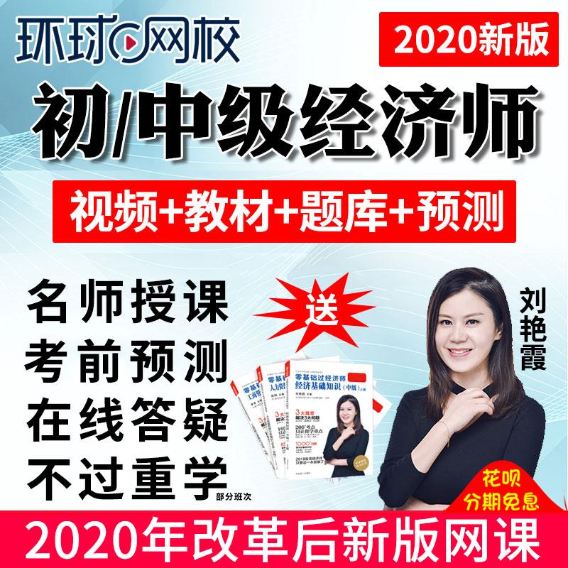 2020环球网校中级经济师网课初级教材课件人力工商管理刘艳霞视频