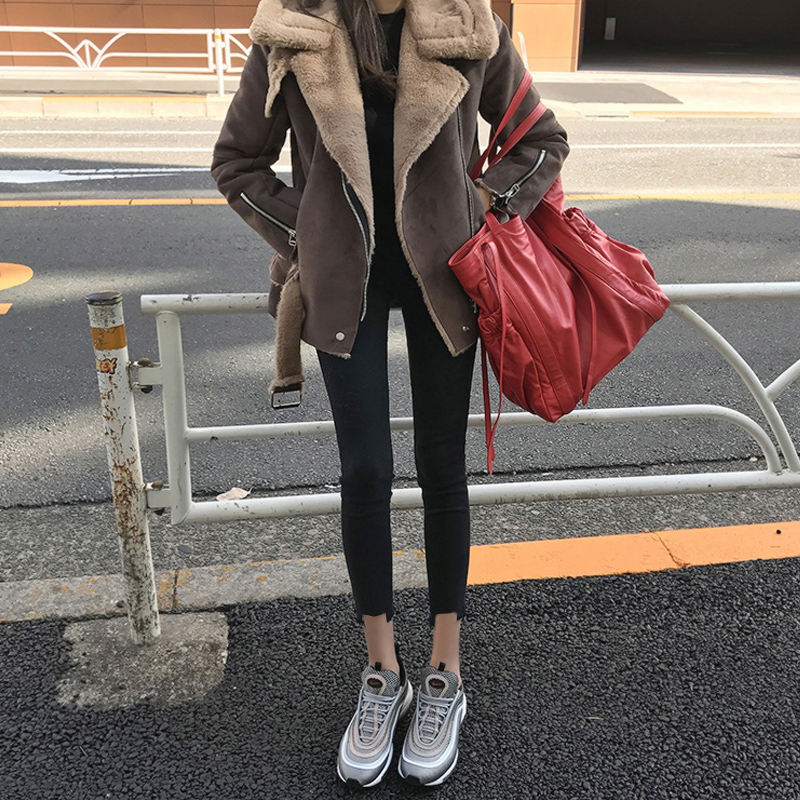 Winter 2020 new jeans womens Korean high waisted slim net red tight black feet nine point pencil pants