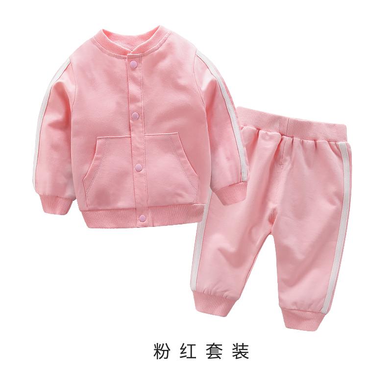 春秋外出运动卫衣婴儿<font color='red'><b>衣服</b></font>两件套