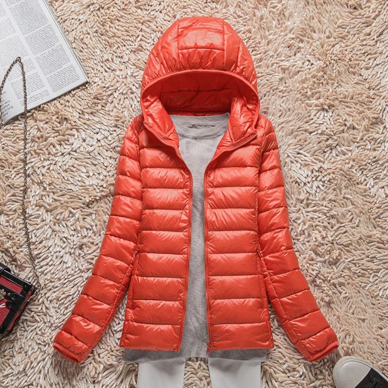Сезон уборки иметь дело с 2017 новый закрытый сверхлегкий затем тонкая куртка женщины зима краткое модель большой двор