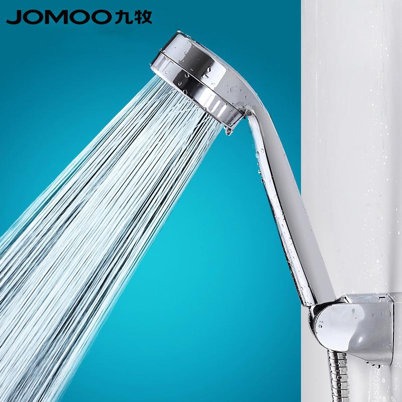 JOMOO九牧花灑噴頭增壓花灑蓮蓬頭淋浴噴頭手持單花灑頭S130011