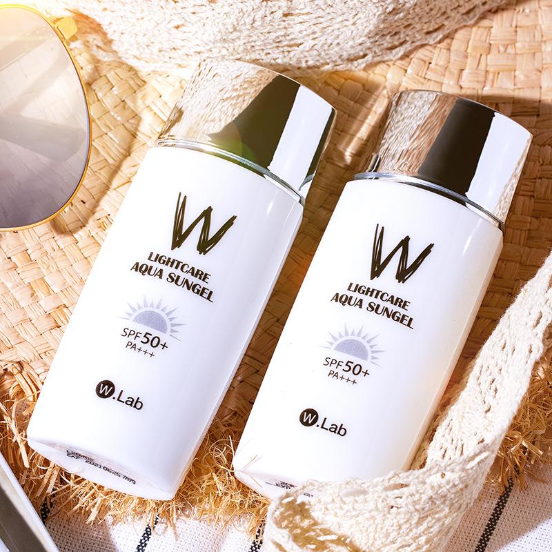 W.Lab二合一正品韓國學生黨男乳50wlab防曬隔離霜女面部防紫外線