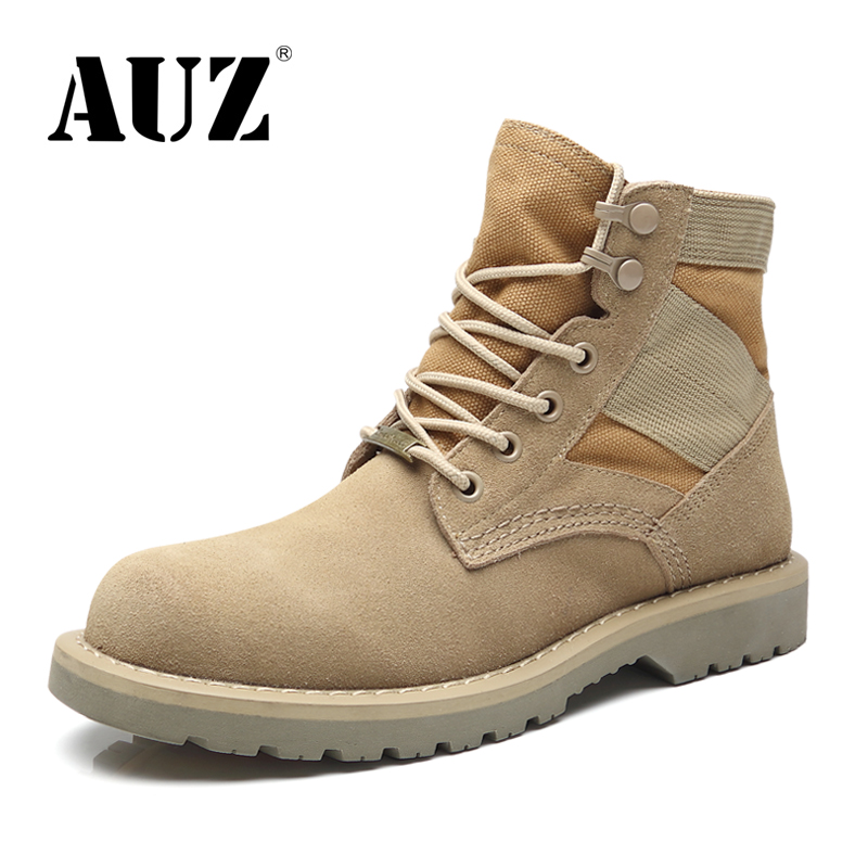 Men's shoes, autumn and winter leather Martin boots, men's high boots, men's overalls, men's boots, desert boots, men's couples, men's military boots