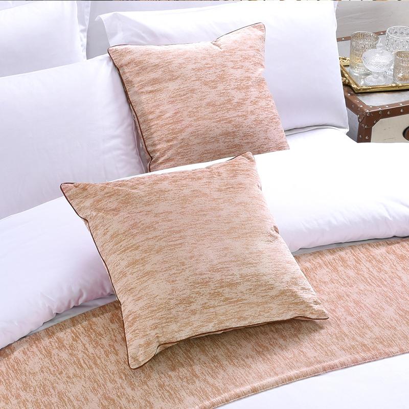 买三送一酒店抱枕宾馆床上靠垫汽车沙发抱枕办公室靠垫现代简约含抱枕芯