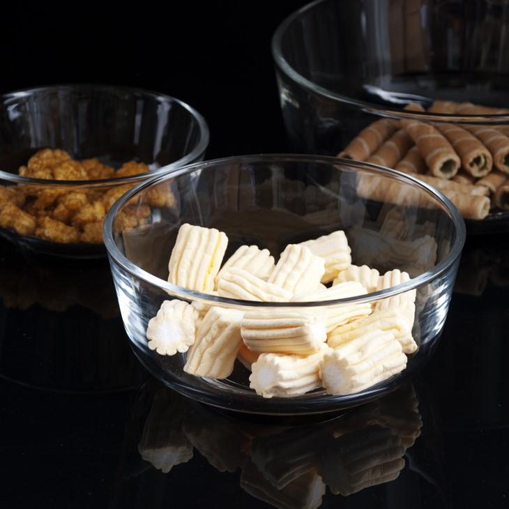 光面透明玻璃碗圆形沙拉碗汤碗甜品碗米饭碗面条碗高品质T透隔热优惠券