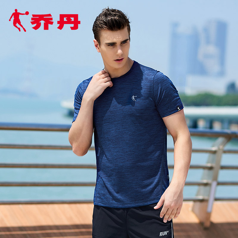 Jordan Men's Sportswear Summer New Men's Wear Knitted Short Sleeve T-shirt Leisure Running Fitness Apparel for Men