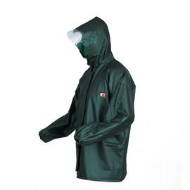 牛筋单层雨衣单件褂子防暴雨不渗水加厚骑行外卖农用工程耐用男女图片