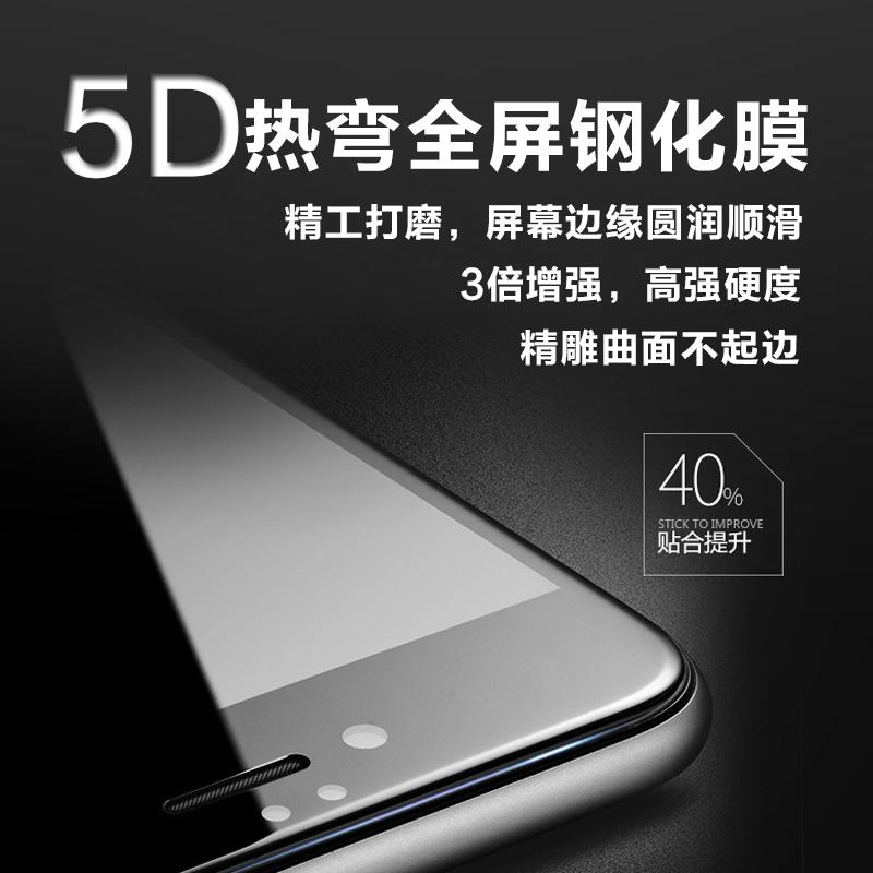 アップル12 mini iPhone 11 Pro 8 X XR XXmax 7 plusフルスクリーン5 D携帯鋼化膜