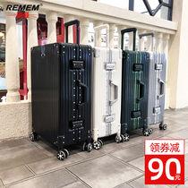 28寸皮箱子20密码箱24北爱拉杆箱旅行箱铝框行李箱女万向轮男学生