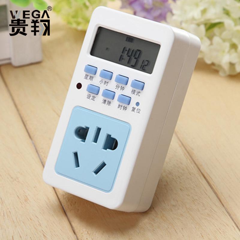 定時器 定時插座 廚房 定時開關插座植物生長補光燈 電子計時器