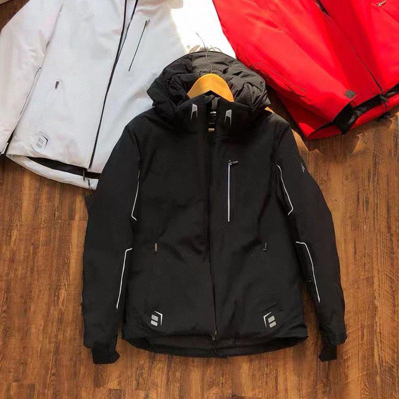 19新款男士户外运动羽绒服男冬装滑雪服韩版修身登山野营钓鱼加厚