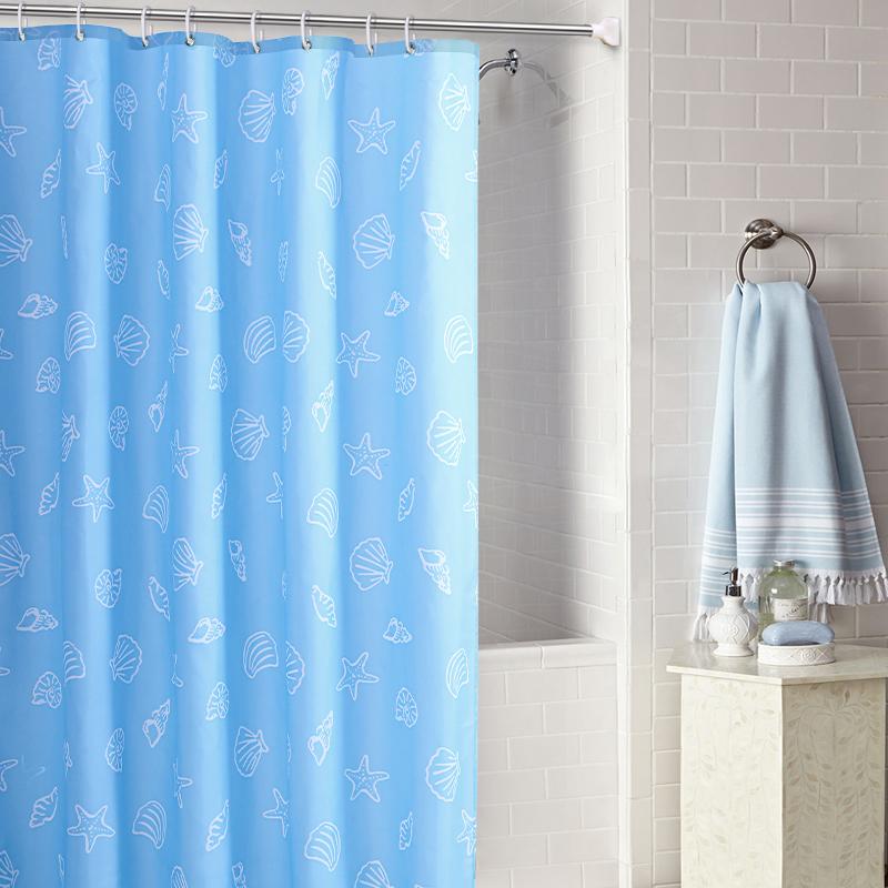 Ванная комната занавески для душа ткань купаться между ванная комната ванна отрезать занавес уплотнённый водостойкий плесень оттенок занавес вешать занавес сын