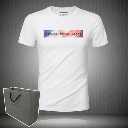 2019新款货号ck36短袖圆领学生t恤