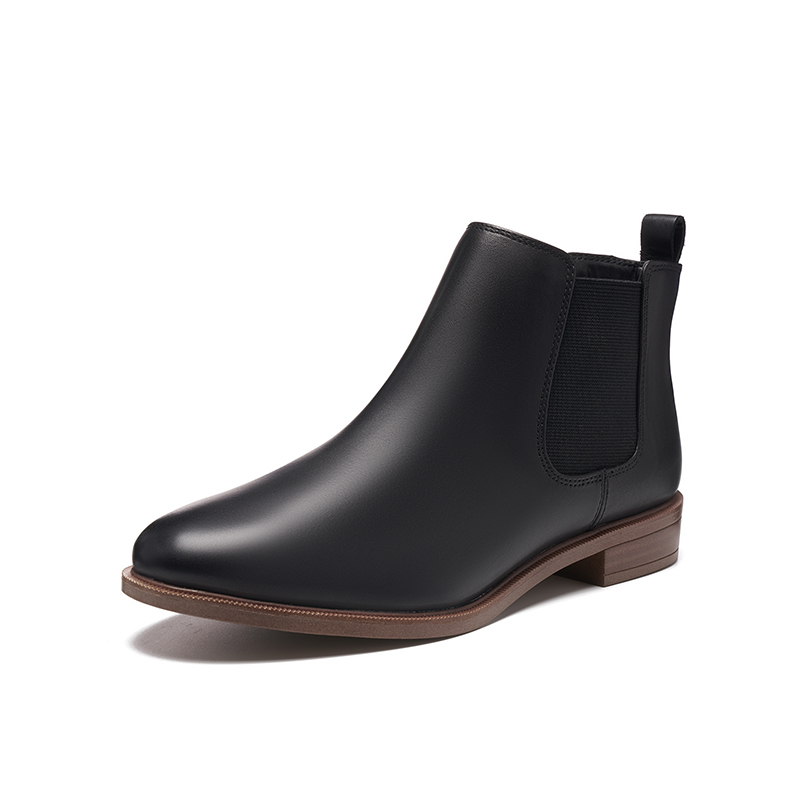 Clarks its music women's shoes 2020 autumn and winter classic retro British style Chelsea boots children's fashion short boots women