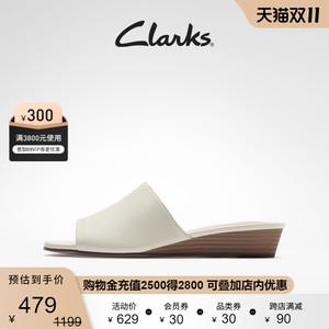 clarks其乐露趾凉拖时尚百搭小女鞋