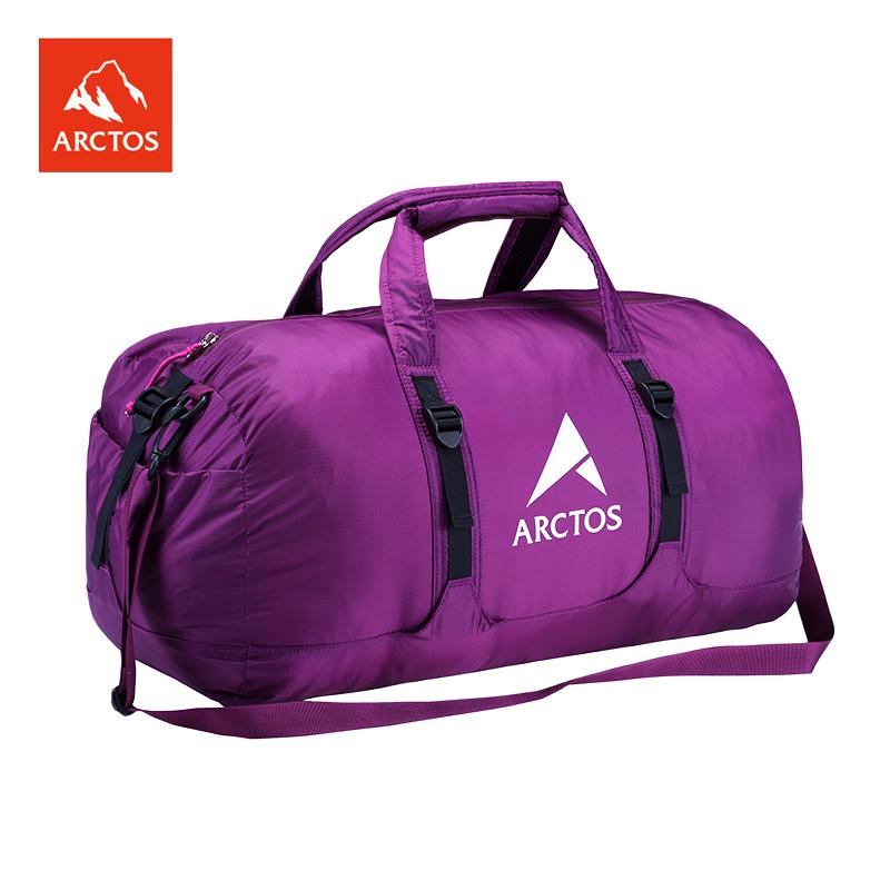极星户外差旅38L折叠包休闲男女旅行多功能耐磨登山包APDC23521