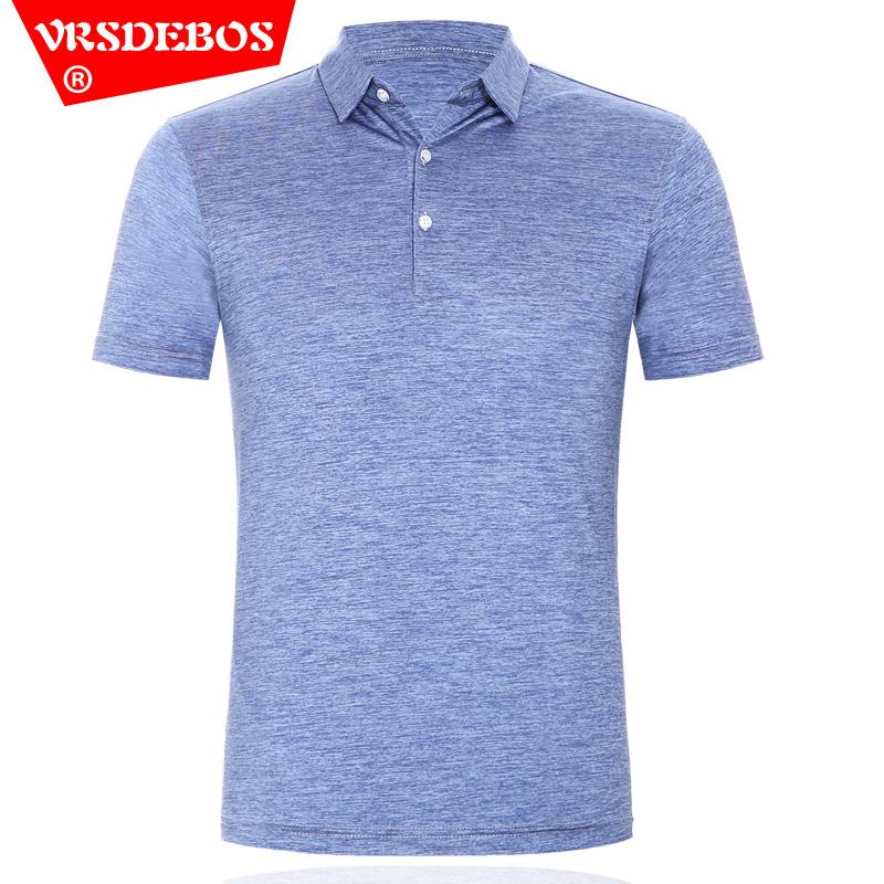 鄂尔多斯市产夏季新品纯色桑蚕丝短袖T恤男中年男装半袖亮面t恤衫