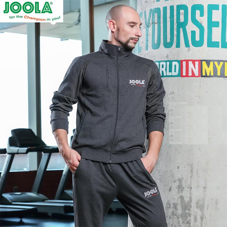 JOOLA优拉尤拉乒乓球服男女款长袖套装秋冬季套服保暖卫衣726 728