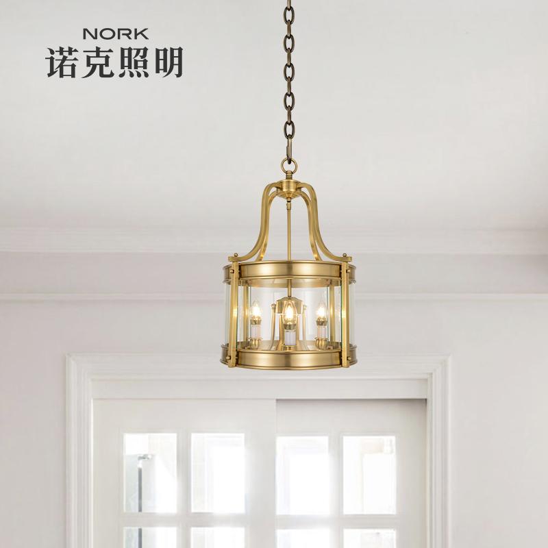 nork诺克灯具全铜吊灯轻奢大气客厅