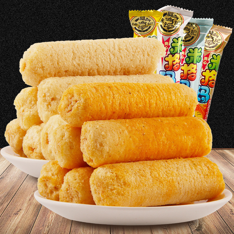 徐福记米格玛500克散称米果卷多口味饼干小吃零食香脆夹心饼干