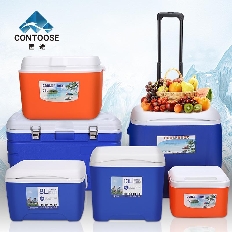 匡途保温箱冷藏箱家用车载户外冰箱外卖便携保冷保鲜钓鱼大号冰桶