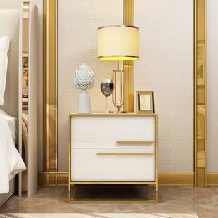床头柜简约后现代轻奢40cm柜卧室储物柜简易小柜子迷你柜北欧ins