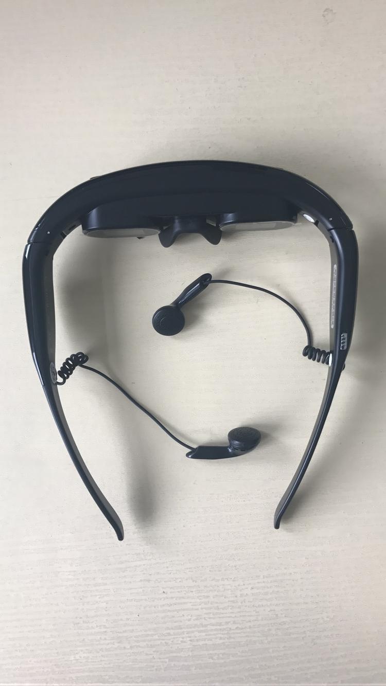 凯顿Karlton视频眼镜62寸宽屏数字移动影院带内存插卡头戴式显示