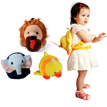 Hug baby bear, learn to walk with anti loss belt, children's backpack, traction rope, children's safe travel on both shoulders