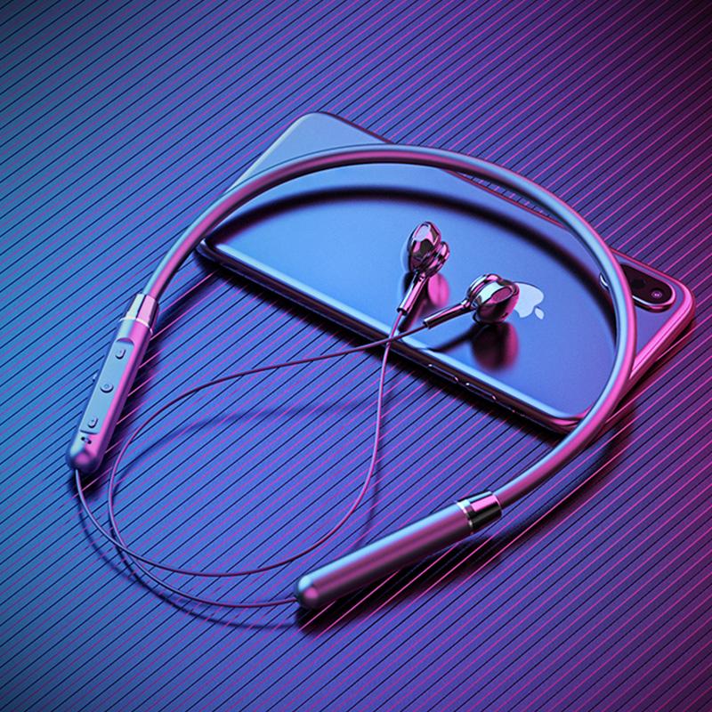 运动无线蓝牙耳机双耳入耳头戴式颈挂脖式跑步游戏安卓苹果通用小型适用oppo华为iphone小米超长待机续航听歌