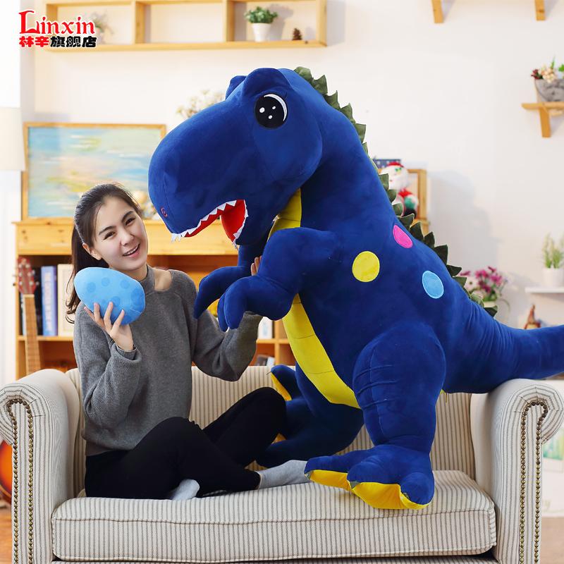 霸王龙公仔恐龙毛绒玩具抱枕布娃娃玩偶可爱男孩女生儿童生日礼物