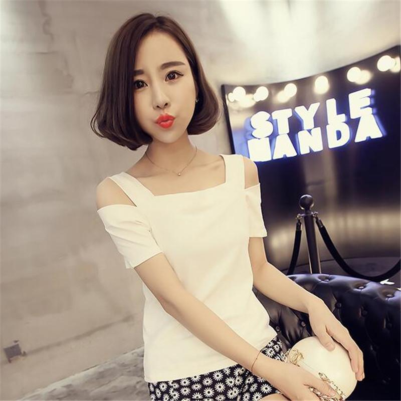 韩版修身短袖T恤10元以下女装衣服9.9元包邮便宜九块九半袖打底衫