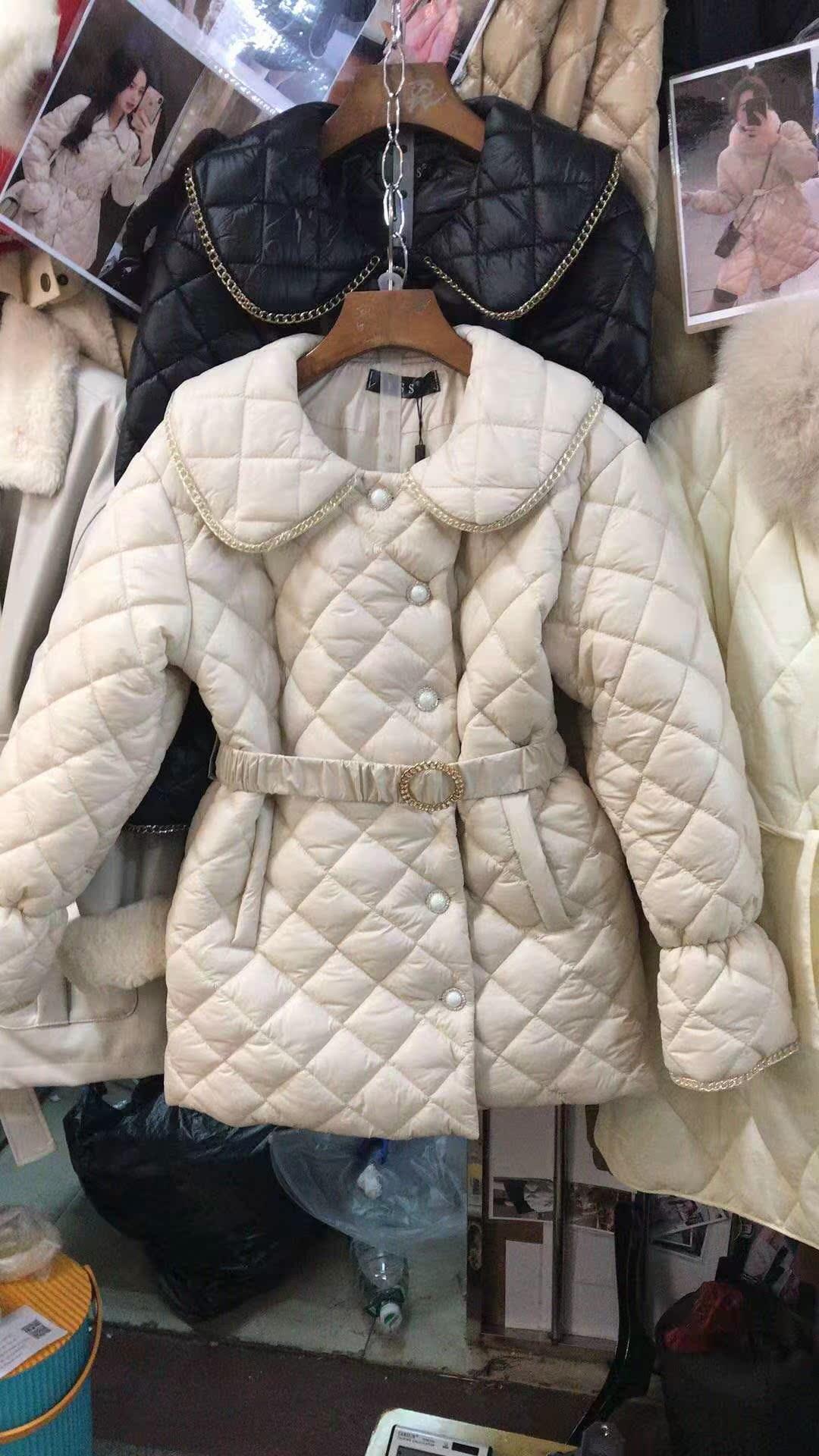 小香风东大门轻薄羽绒服女2019冬装新款短款收腰显瘦时尚韩版外套
