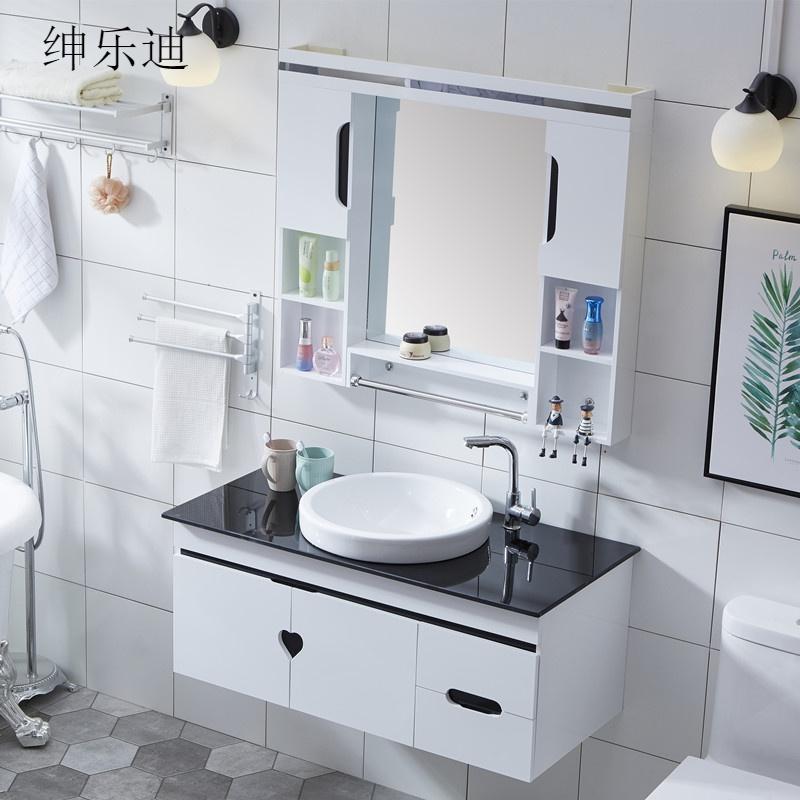 10-18新券浴室柜组合卫生间pvc洗手池
