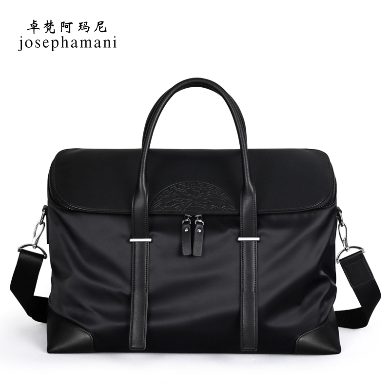 Zhuo Fan Armani men's bag luggage short-distance travel bag men's travel bag handbag business casual men's bag
