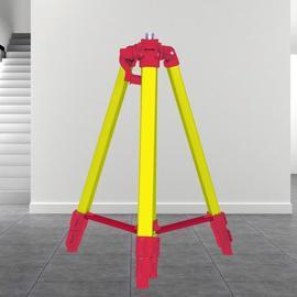 恒昌4米支架铝合金伸缩杆吊顶激光水平仪升降支撑杆三脚架